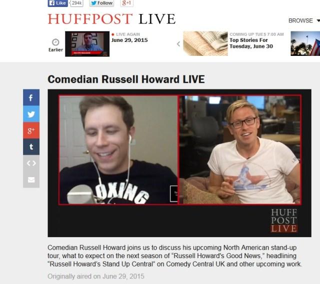 russell howard