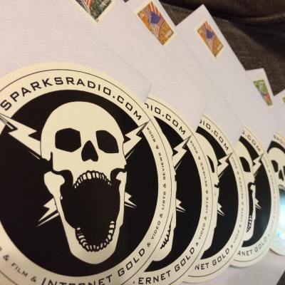 Want a free SparksRadio.com Sticker? Check it out!