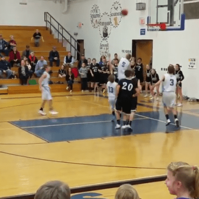 Ball Gets Stuck On Rim, Lose Title Game!
