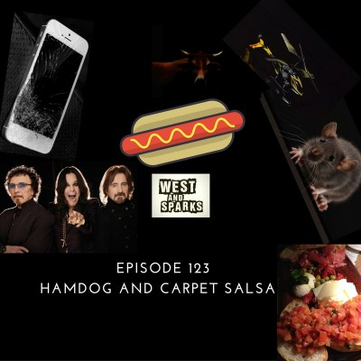 West and Sparks TIMED Podcast Ep 123: Hamdog and Carpet Salsa