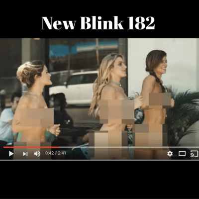 Same but different music video for Blink 182