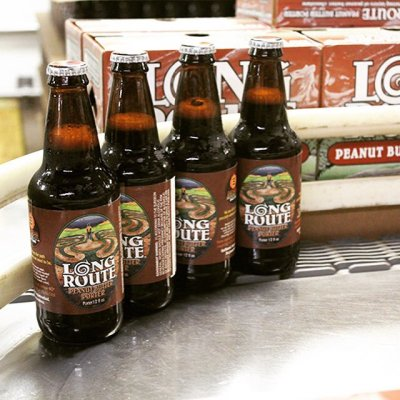 2 Beers 1 Cup:  Empyrean Brewing Company's Long Route Peanut Butter Porter