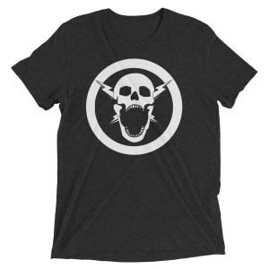 I HAVE NO WORDS – SPARKS RADIO LOGO ONLY t-shirt
