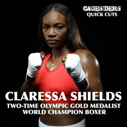 Cagesiders Quick Cut: Claressa Shields