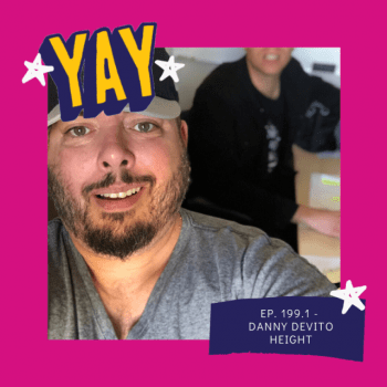 Danny DeVito Height : Sparks Radio Podcast Ep 199.1
