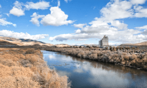John Byrne/Tribune A massive excavation project is underway on a stretch of the Truckee River near Sparks to reconnect the river with its natural floodplain.