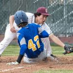 Sparks baseball, softball split series openers with Lowry