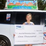 Sparks Fifth Grade Student Wins Taxi-Top Design Competition