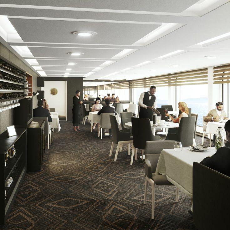 Ala Carte Restaurant_copyright Havila Voyages