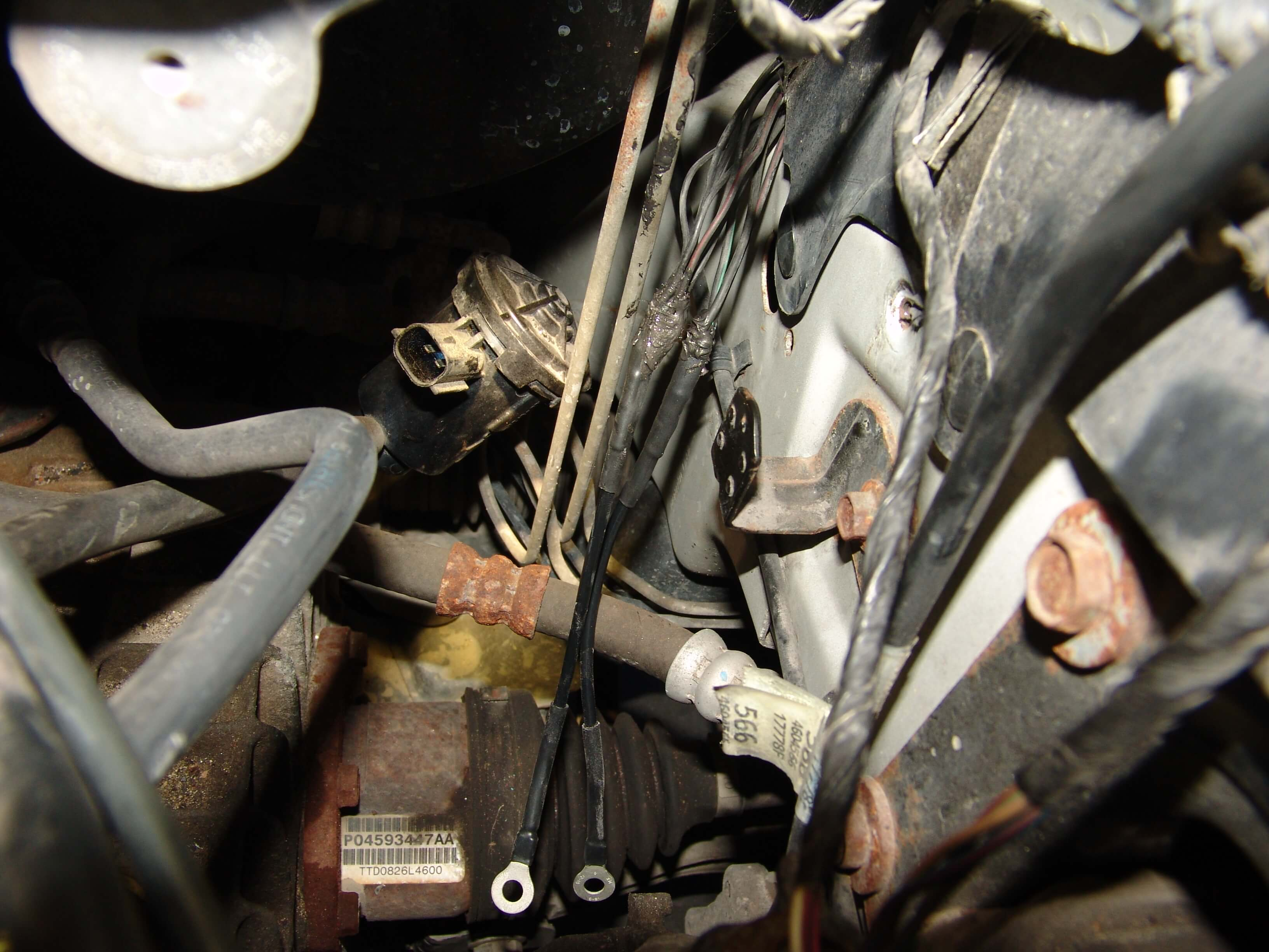 Brackets If You Use A Mopar Alternator Check Out The Wiring Diagram