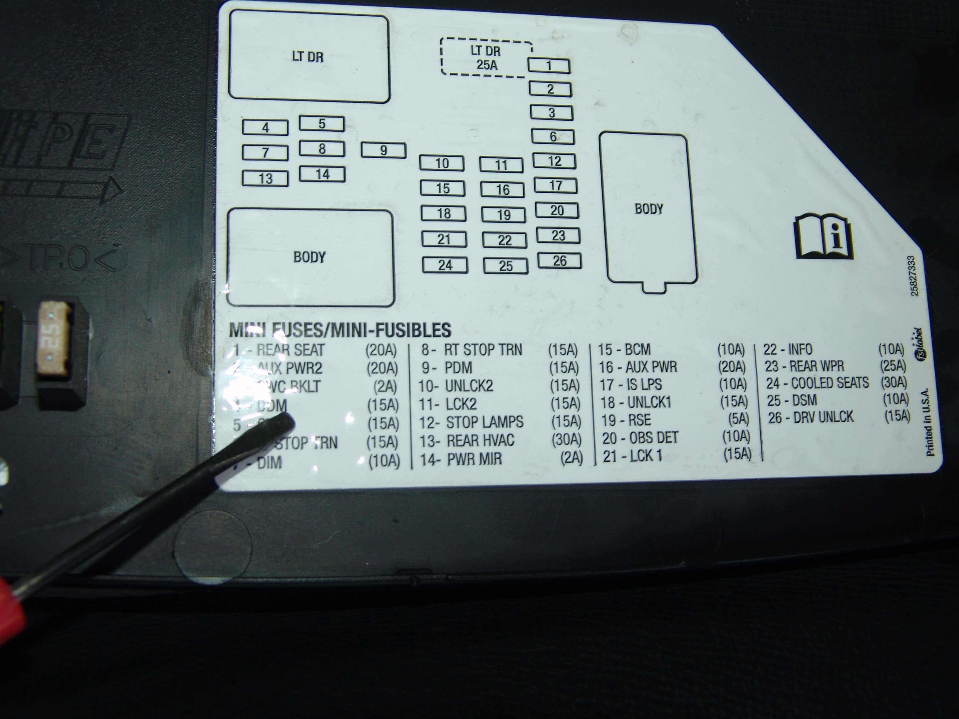 sparky's answers 2008 chevrolet avalanche right front turn 2007 Chevy Avalanche Fuse Box Diagram power on one side of the fuse 2007 chevy avalanche fuse box diagram