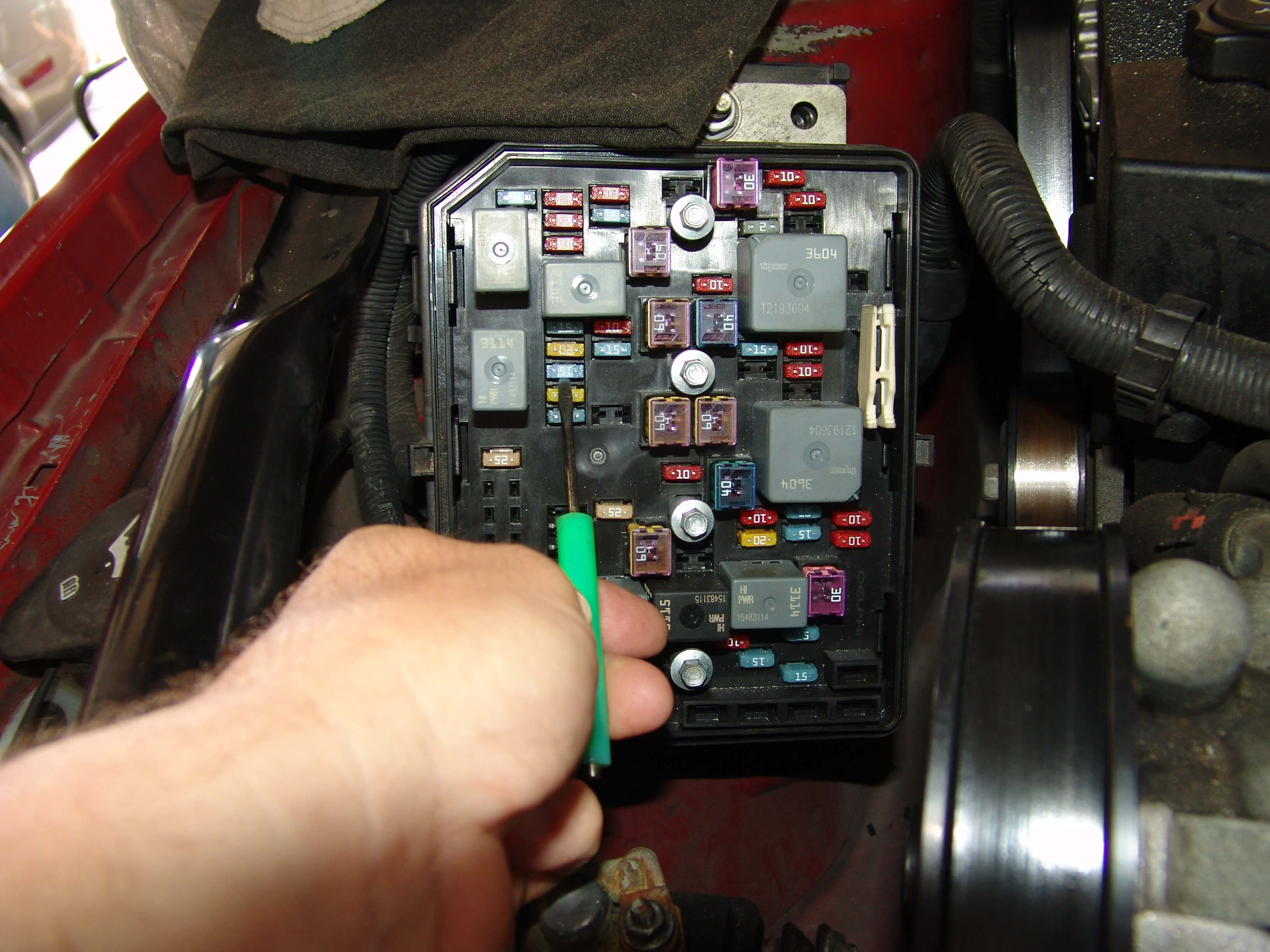 Sparky's Answers - 2007 Chevrolet Monte Carlo SS Emissions 1 Fuse Blows | Chevrolet Monte Carlo 2007 Fuse Box |  | Sparky's Answers