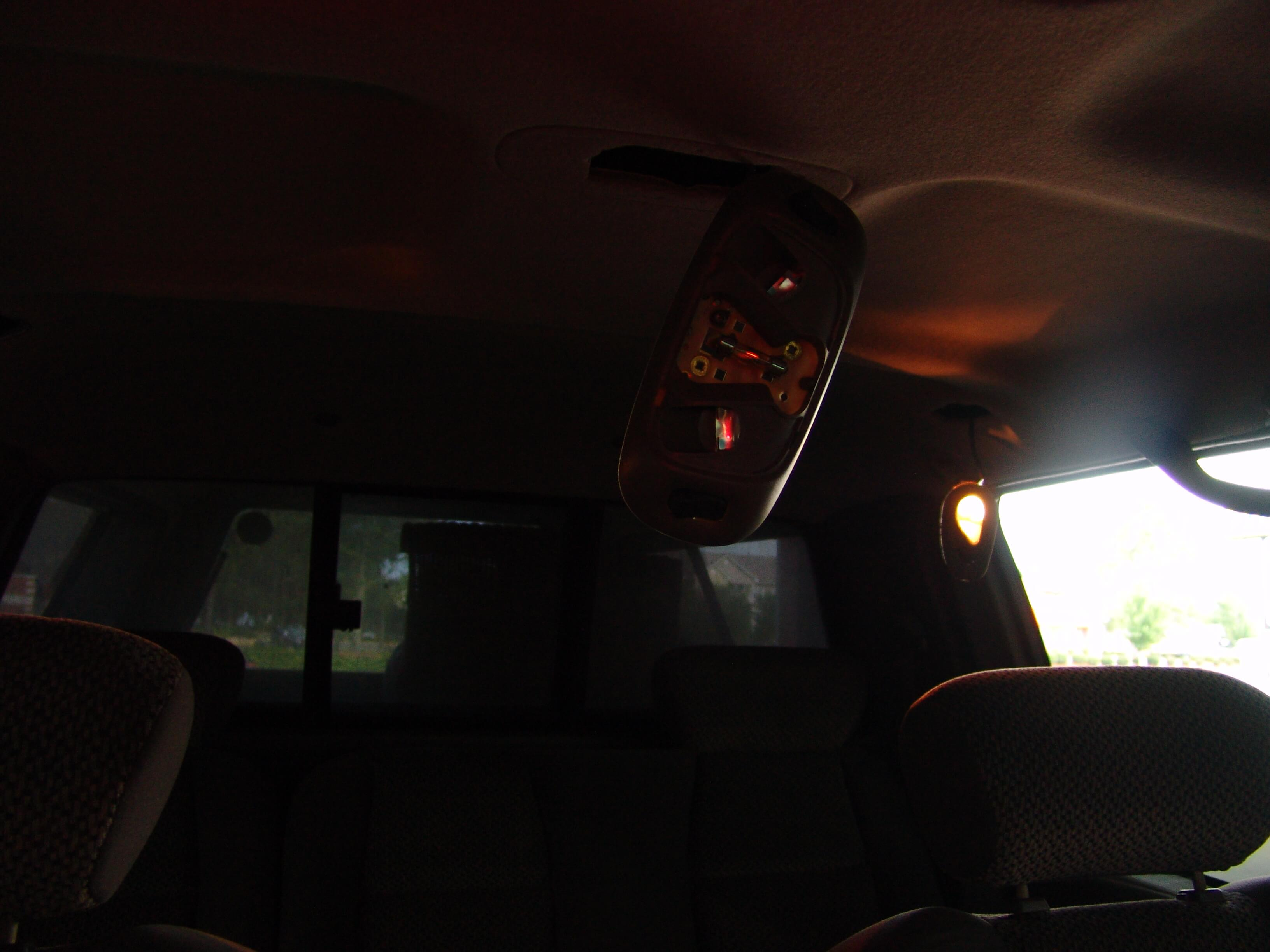 2002 Ford F150-Dome Light Glows & Sparkyu0027s Answers - 2002 Ford F150-Dome Light Glows