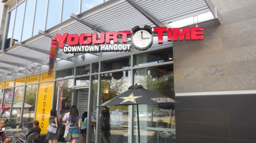Yogurt Time located at Cityscape in Phoenix. Photo credit to Andrea Charcas.