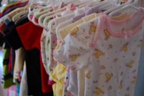 Baby clothes at the Bodega