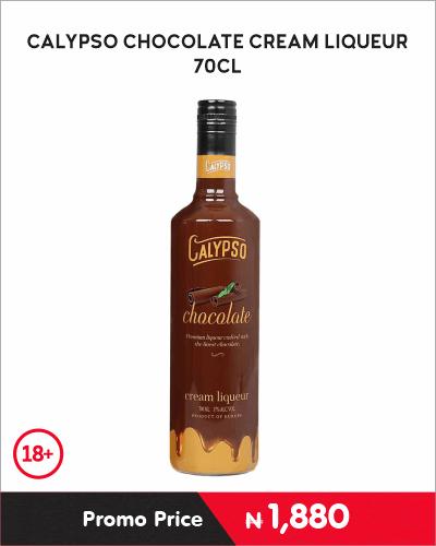 CALYPSO CHOCOLATE CREAM LIQUEUR 70CL