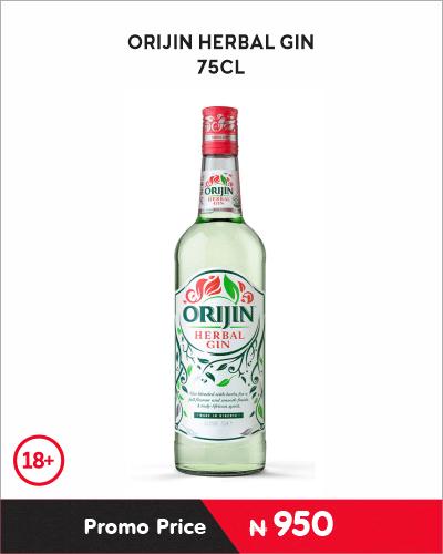 ORIJIN HERBAL GIN 75CL