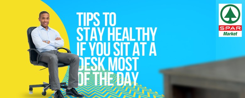 Heathy tips for sitting on your desk all day