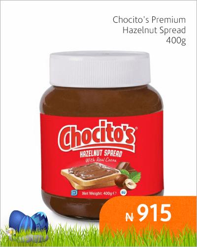 Chocito\'s Hazlenut Spread 400g