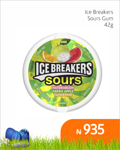 Ice Breakers Sours Gum 42G