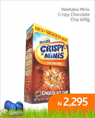 Weetabix Minis Crispy Chocolate Chip 600g