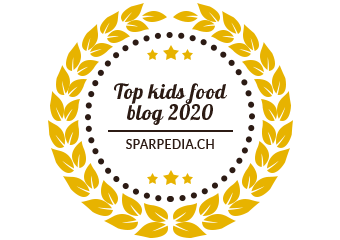 Banners for Top kids food blog 2020