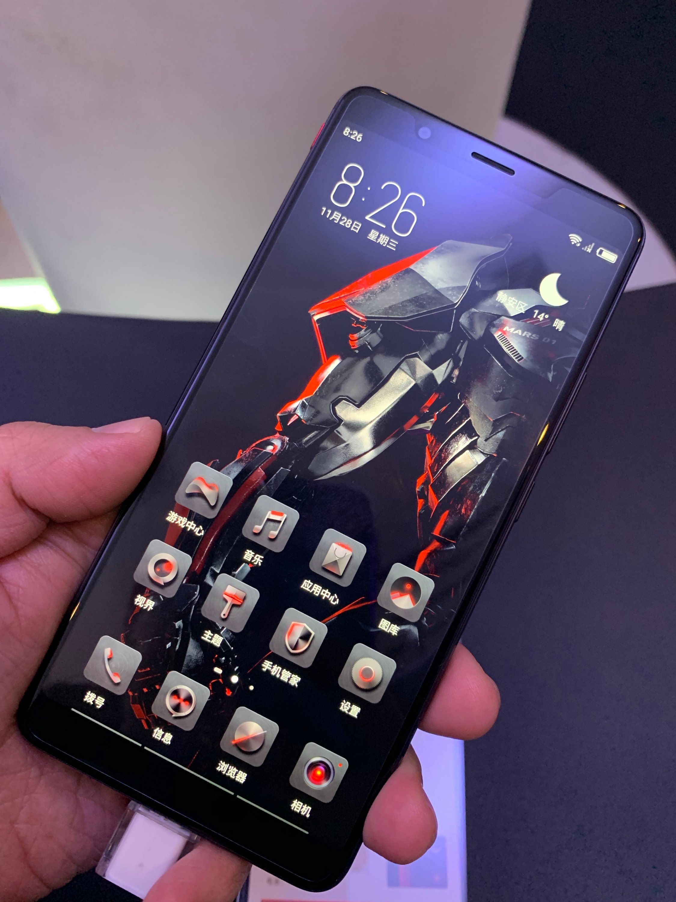 ZTE nubia Red Magic Mars Hands -on