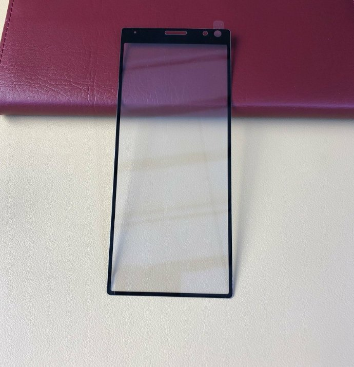 Sony Xperia XA3 Screen Glass Exposure