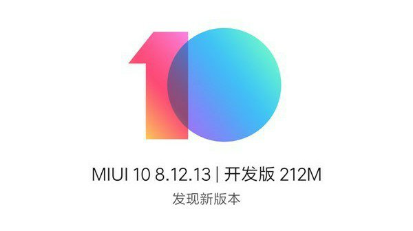 MIUI 10 8.12.13 announcement and update change log for MI MIX 3 1