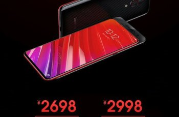 Lenovo Z5 Pro GT855 EDITION, world's first 12GB RAM Smartphone Launched 1