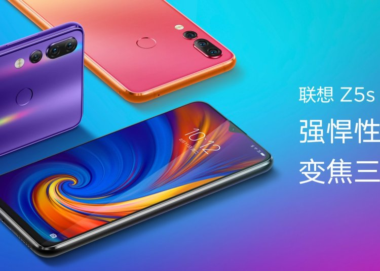 Lenovo Z5s Price and Specifications Officially Launched 1