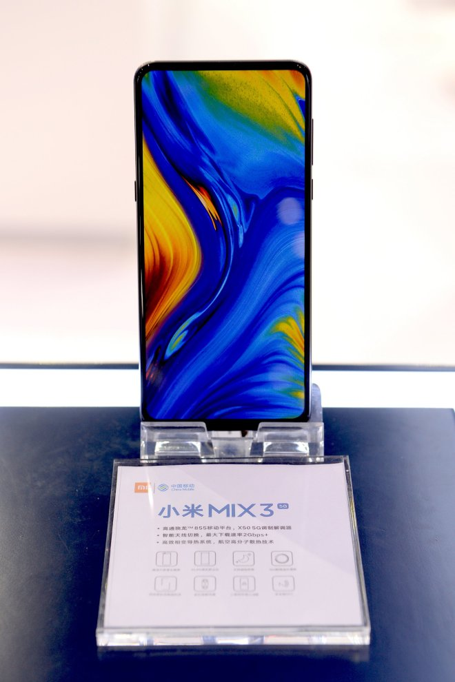 Xiaomi MIX3 will have 5G version