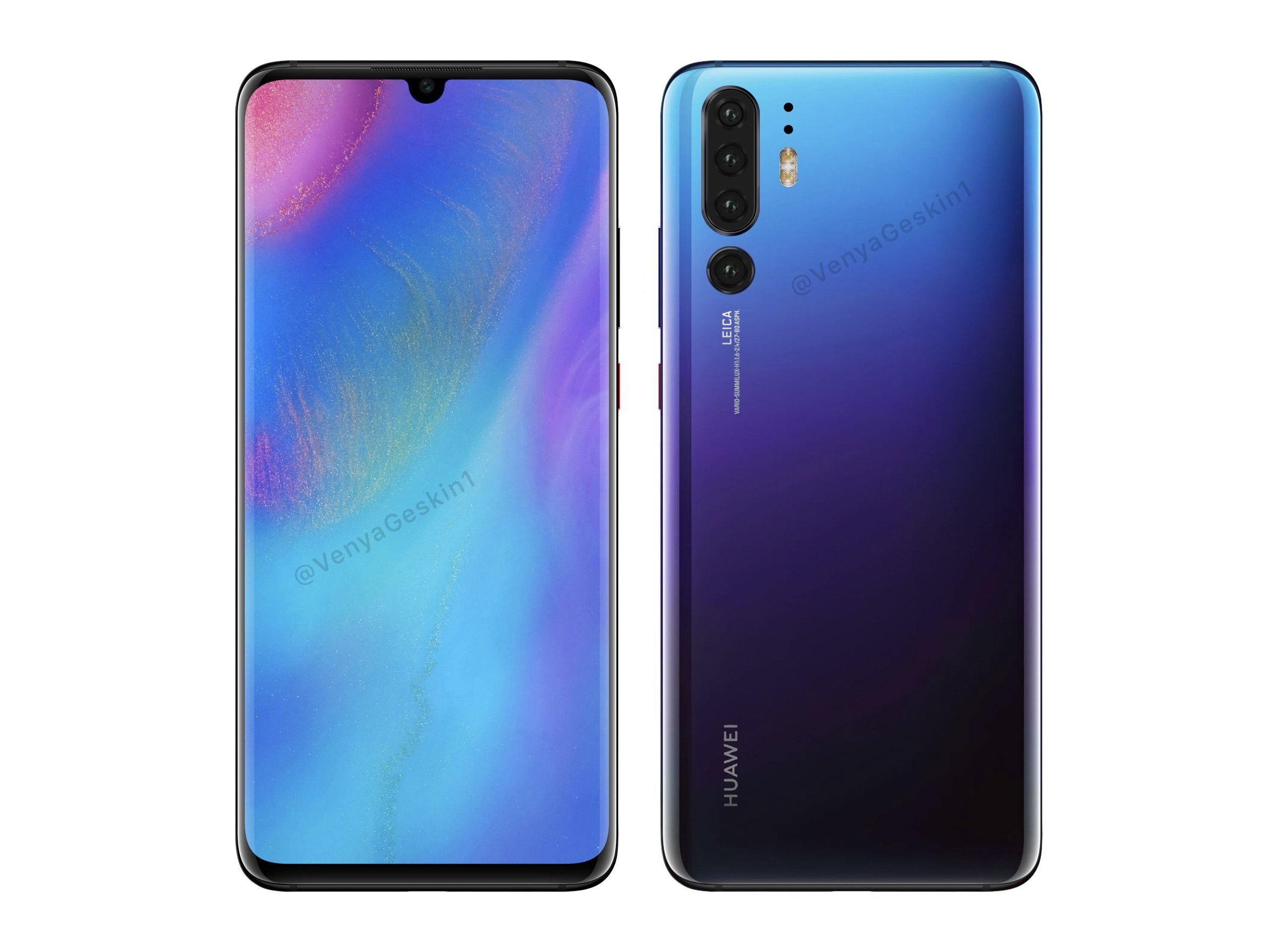 Huawei P30 Pro Concept