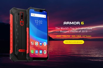 Ulefone announced Armor 6- The World's Top Indestructible Rugged Phone 1