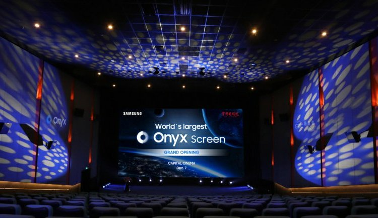 14 meters wide, the new immersive Onyx Cinema LED Screen is the biggest ever by Samsung 1