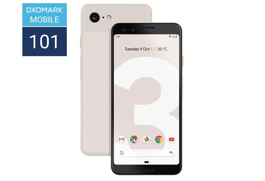 Google Pixel 3 DxOMark Rating