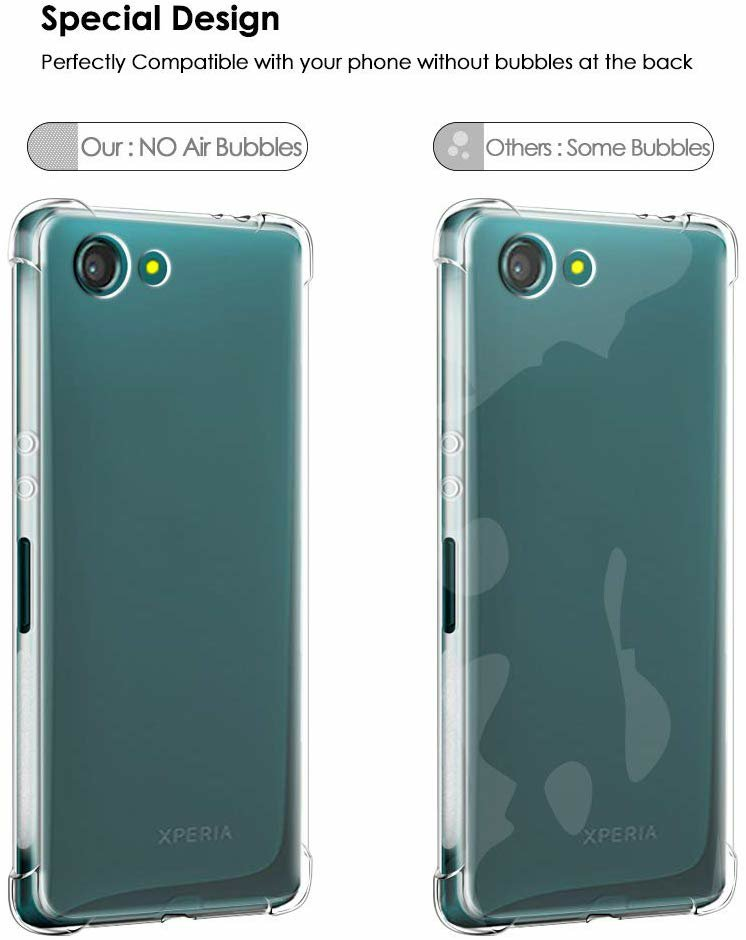 Qoosea Sony Xperia XZ4 Compact  back Case