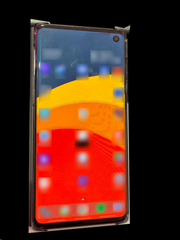 Samsung Galaxy S10 in wild life, galaxy s10 real life photo
