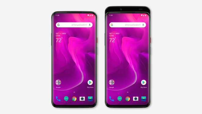 Oneplus 7 Concept Based on leak by BenGeskin