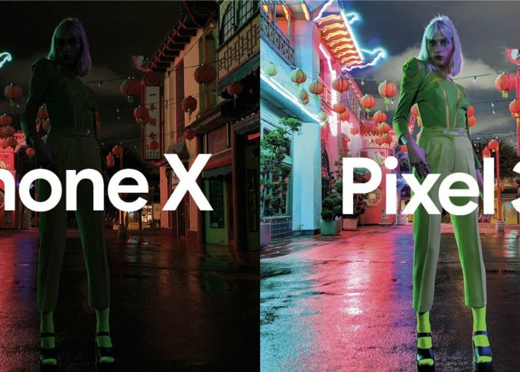 Google uses Pixel 3 photos to compare with Apple iPhone XS 1