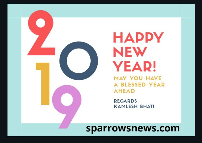 Happy New Year 2019, best new year wishes, happy new year 2019,
