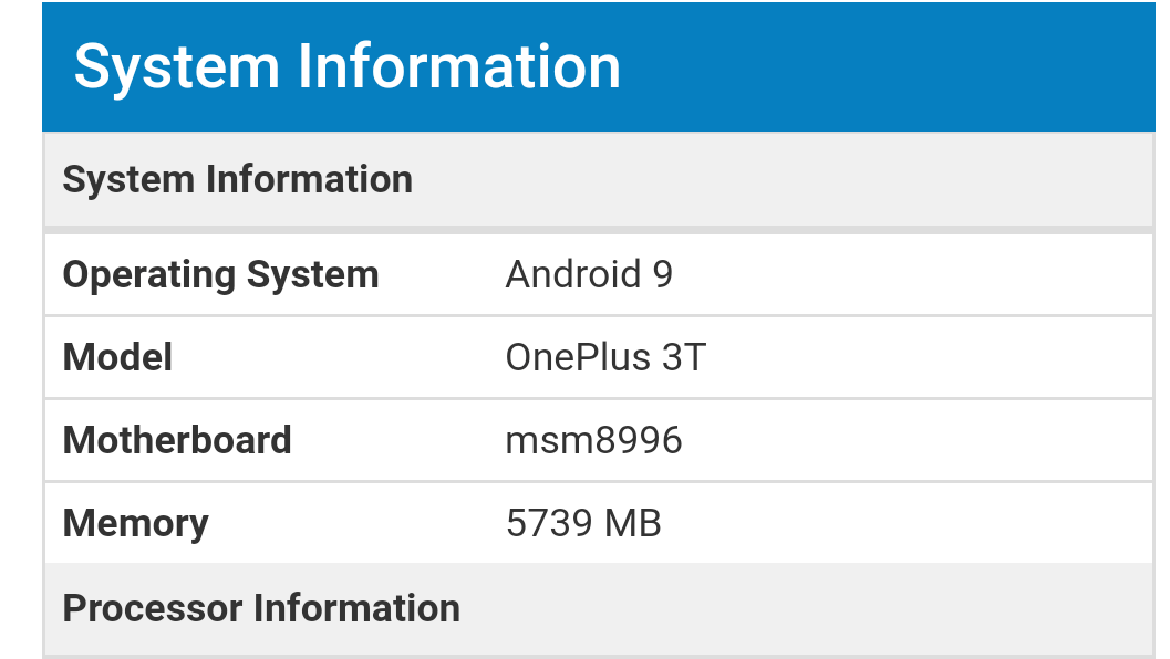 OnePlus 3 and 3T Android 9 Pie upgrade is coming soon 1