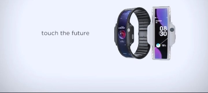 ZTE Nubia A flexible Wearable