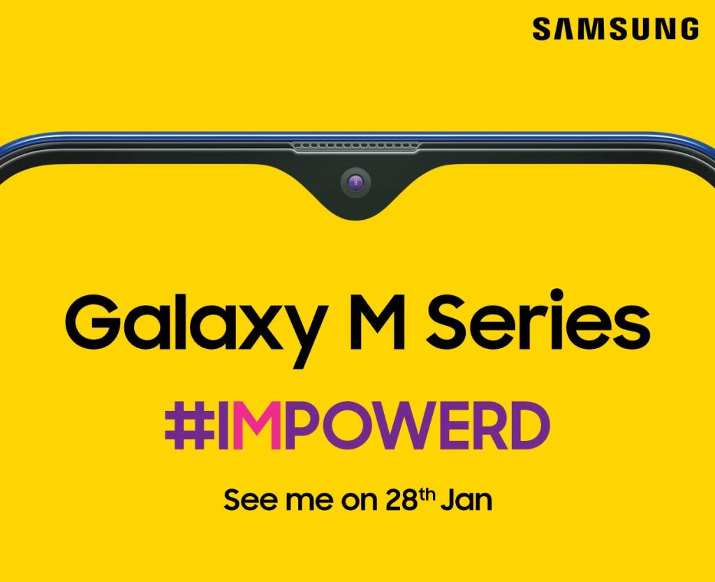 Samsung Galaxy M Series Launch Date and Official Promotional Material 1