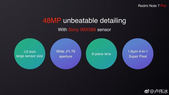 Redmi Note 7 Pro Camera Specifications