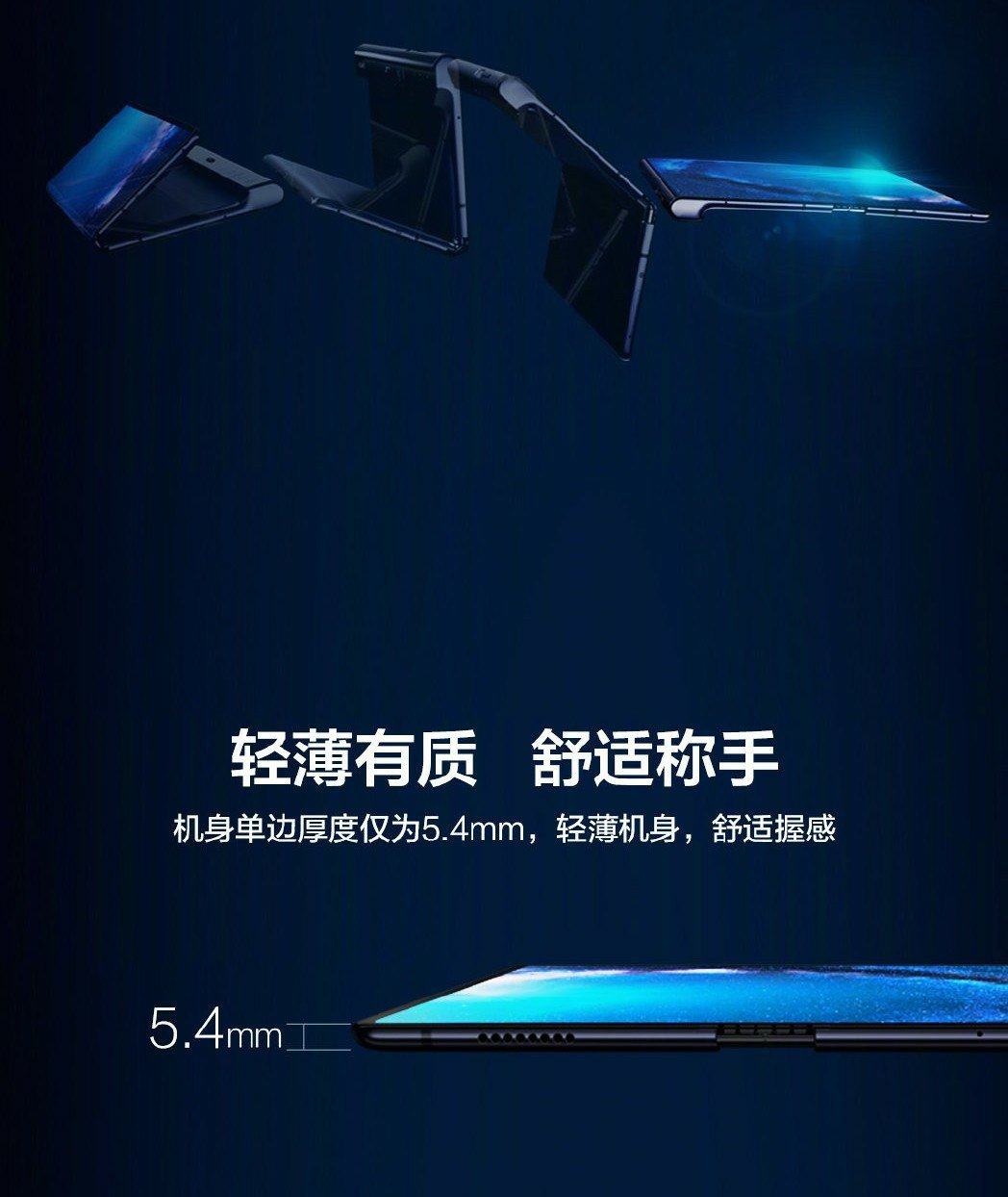 Huawei Mate X 5G Folding Phone- 8 Highlights - A picture to