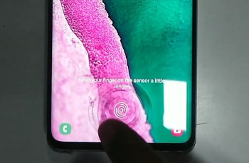 How to use Samsung Galaxy S10's 3D Ultrasonic Fingerprint ? Here is How... 1
