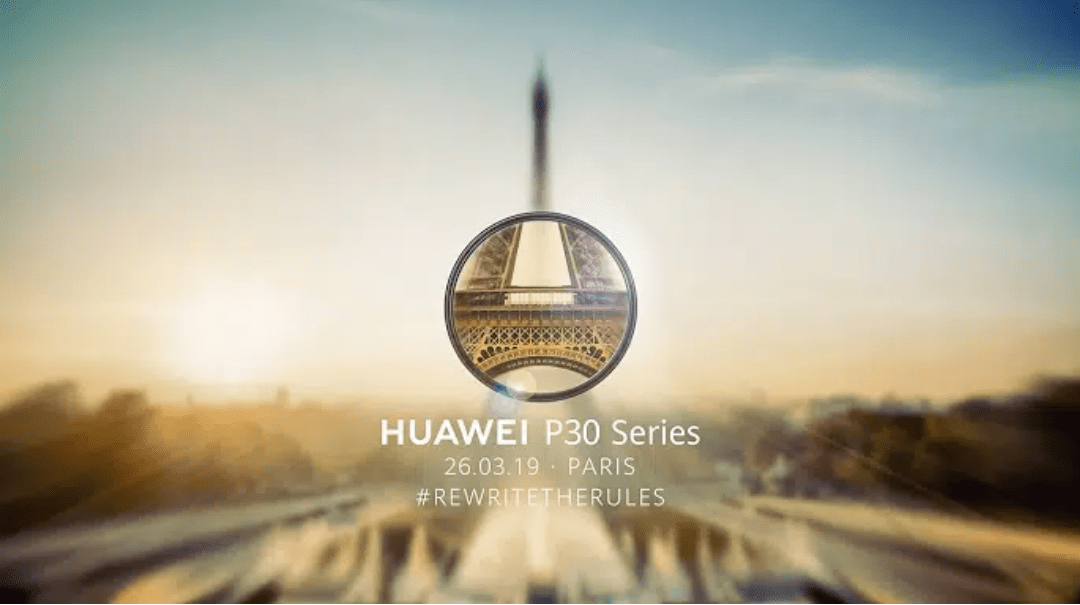 Watch Huawei P30 Series Launch Event Live 1