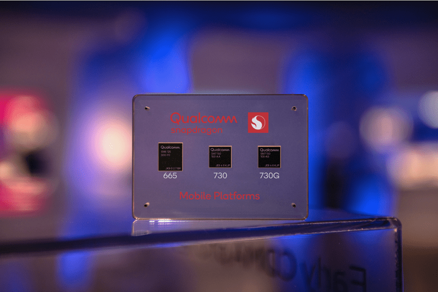 Qualcomm Snapdragon 665/730/730G running points exposure: 730G running 222538 points 1