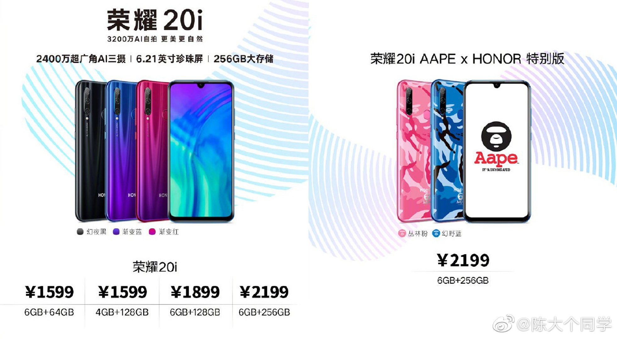 Honor 20i Price